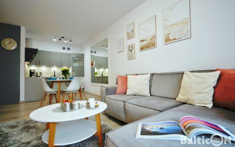 Apartament E205 Polanki Park-3