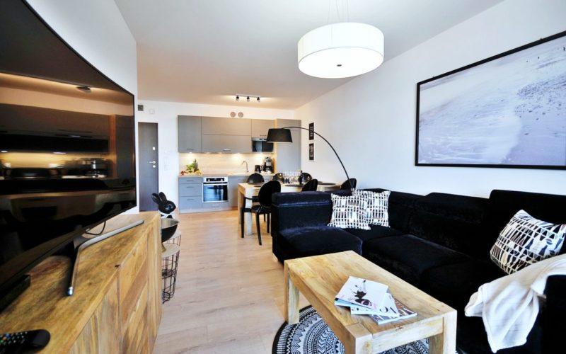 Apartament E404 Polanki Park-3