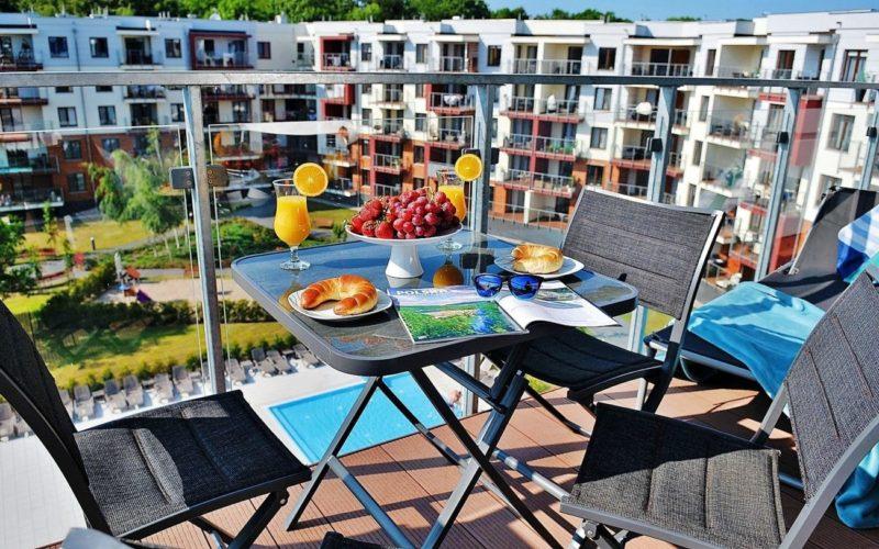 Apartament E406 Polanki Park-10
