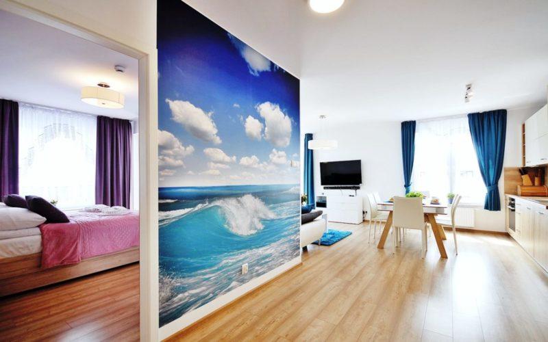 Apartament E408 Polanki Park-4