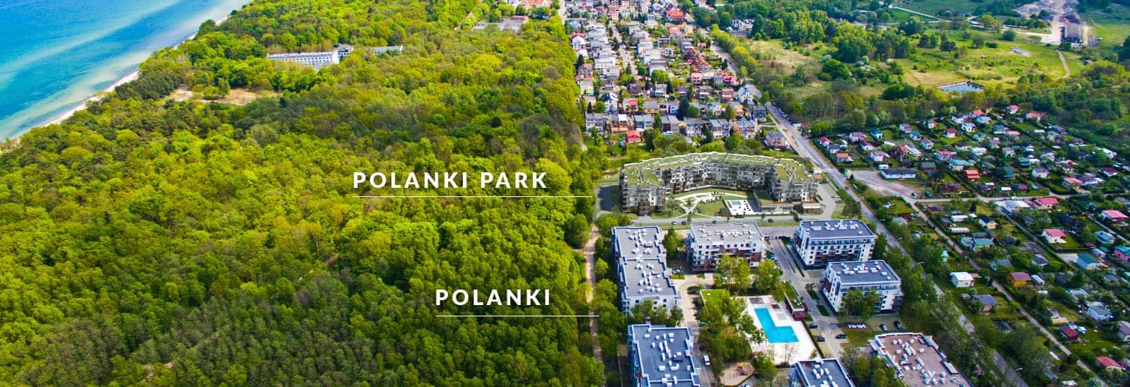Polanki Park Wohnungen zur Miete in der Nähe des Meeres in Kolberg